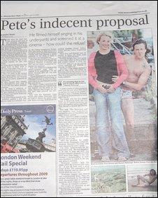 Western Daily Press story