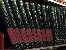 Britannica in book form