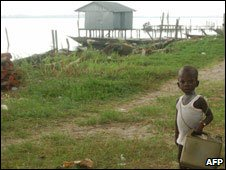 Child in the Niger Delta
