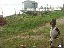 Child in the Niger Delta