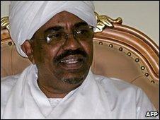 Omar al-Bashir, file image