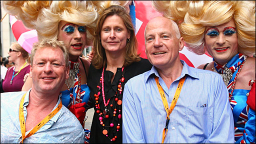 Sarah Brown at London Pride