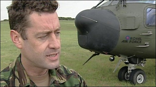 "Wing Commander Simon ""Spats"" Paterson"