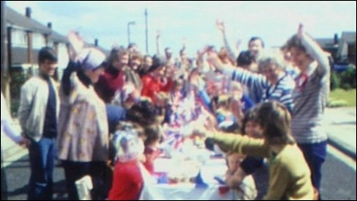 Film archive of street party