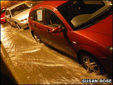 Flooding in Nairn