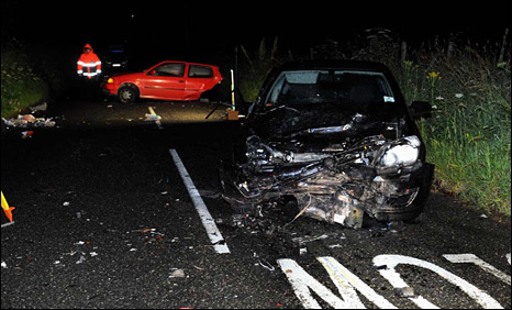 Turriff double fatal scene [Pic: Press and Journal]