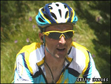 Leipheimer's absence will be a blow to friend and team-mate Lance Armstrong