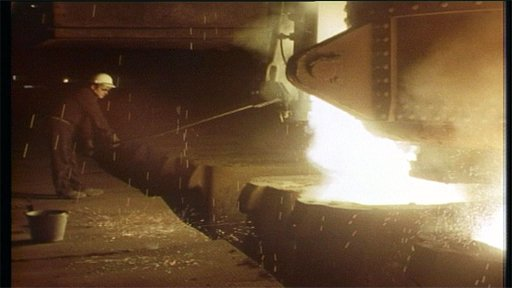 Steelmaking furnace 1975