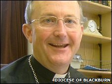 Bishop of Blackburn, the Right Reverend Nicholas Reader