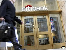 A Citibank branch - part of Citigroup