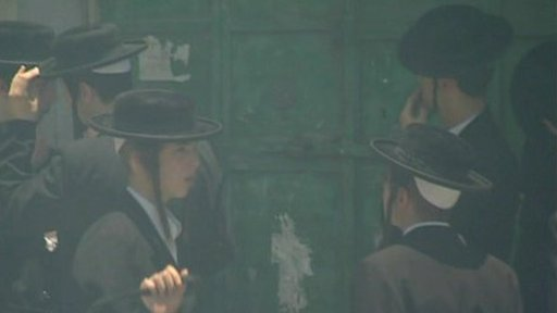 A group of Orthodox Jews