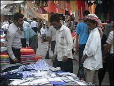 The market in Suleimaniya