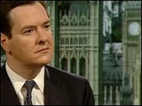 George Osborne MP, Shadow Chancellor