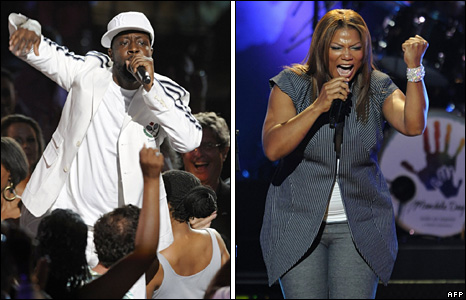 Wyclef Jean and Queen Latifah