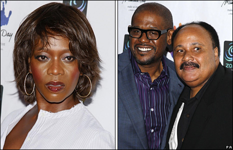 Alfre Woodard, Forest Whitaker and Martin Luther King III