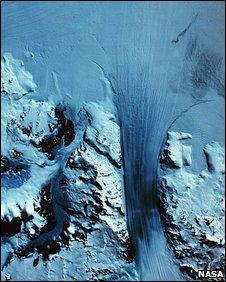 Byrd Glacier (Nasa/Landsat)