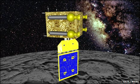 Moonlite mission (Image: Surrey Space Centre/SSTL)