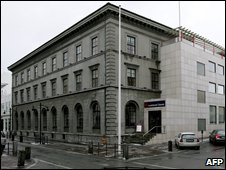 The headquarters of the Landsbanki bank in Reykjavik