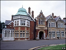 Bletchley Park - main building
