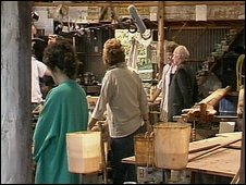 Filming at the Elephant Boatyard