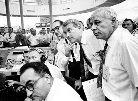 George Mueller and Wernher von Braun (Nasa)