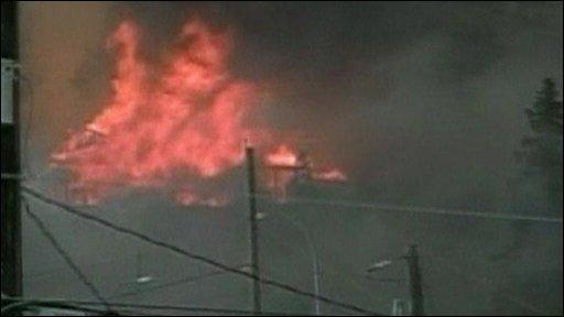 Fire in Canada