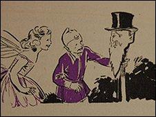Blyton was illustrated by Eileen Soper