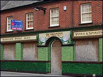 The Swann Inn, Poole, pre-refurbishment