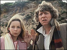 Tom Baker and Lalla Ward - Doctor Who