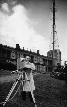 TV camera at Alexandra Palace