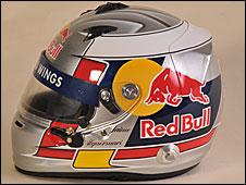 Jamie Alguersuari's helmet