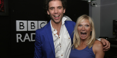 Mika and Jo Whiley