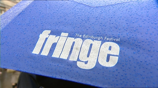 Edinburgh Fringe umbrella