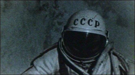 Russian cosmonaut Alexei Leonov