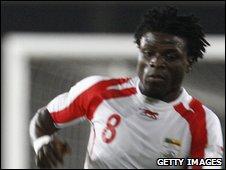 Benin striker Razak Omotoyossi