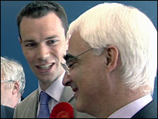 Chris Ostrowski and Alistair Darling