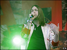 Tom Meighan of Kasabian