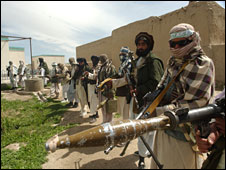 Taliban militants in Ghazni province (file image from 2008)