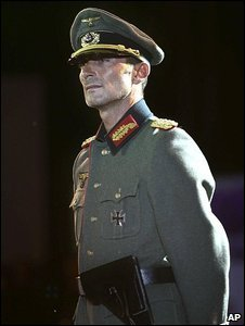 Mayor Radu Mazare in the German uniform