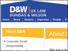 Dundas and Wilson website