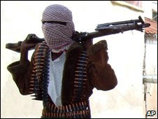 Somali militant, file image