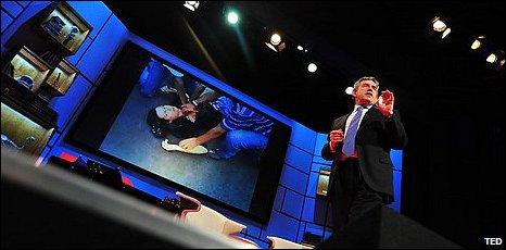 Gordon Brown at TED