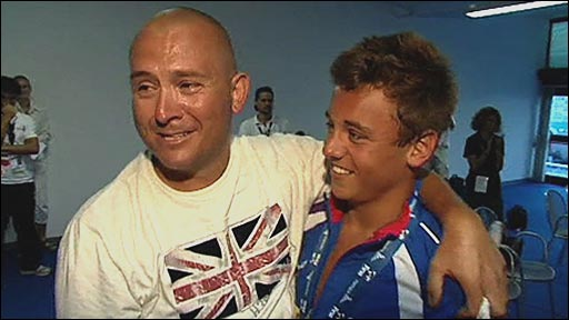 Rob and Tom Daley