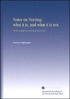 Florence Nightingale's out of print nursing book