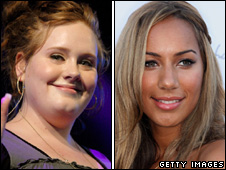 Adele and Leona Lewis