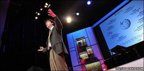 Jonathan Zittrain at TED (TED/JD Davidson)