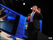 Gordon Brown at TED