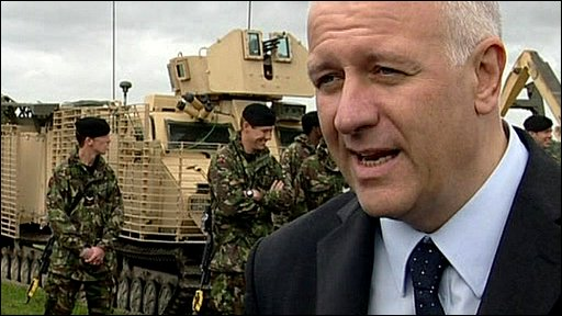 Armed Forces Minister Bill Rammell