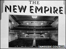 A 1933 poster for the New Empire