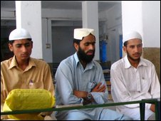 Students at Jamia Naeemia
